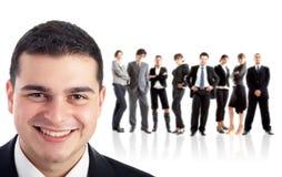 Führer und sein Team Stockbilder