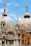 Führt Palast des aufwändigen Doges einzeln auf. Venedig, Italien lizenzfreie stockfotos