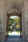 Führt Tür der Suleymaniye-Moschee einzeln auf Lizenzfreie Stockbilder