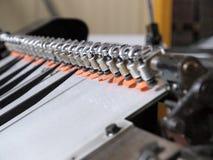 Führt Typografieausrüstung einzeln auf Lizenzfreies Stockbild