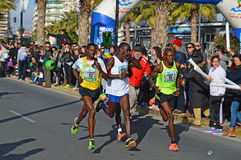 Führung des Marathons Lizenzfreie Stockfotos