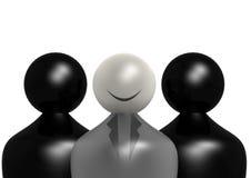 Führung im Schwarzen Stockbild