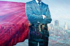 Führung und Analytikkonzept lizenzfreies stockbild