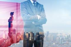 Führung und Jobkonzept stockfotografie
