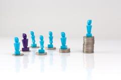Führung und Unternehmensstrukturkonzept Stockfotos