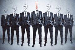 Führung und Vertrauenskonzept lizenzfreie abbildung