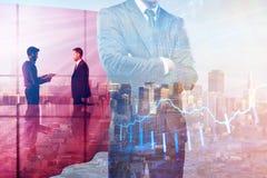 Führung und Vorratkonzept stockfotos