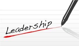 Führung unterstrichen in der Feder vektor abbildung
