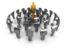 Führungkonzept Stockbilder