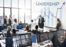 Führungs-Führungsqualitäts-Führer Support Concept lizenzfreie stockfotos