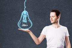 Führungs-, Ideen- und Leistungskonzept Stockfotografie