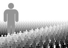 Führungs-Verteilung Lizenzfreie Stockbilder