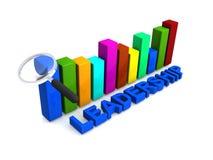 Führungsgraphiken vektor abbildung