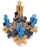 Führungspuzzlespiel Lizenzfreie Stockfotografie