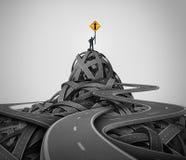 Führungstraining lizenzfreie abbildung