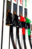 Füllen Sie die Tankstelle auf Stockfotografie
