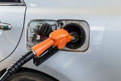 Füllen Sie Kraftstoff auf Stockfotos