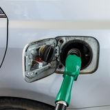 Füllen Sie Kraftstoff auf Stockfotografie