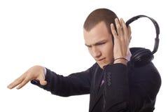 Füllende Musik Lizenzfreies Stockbild