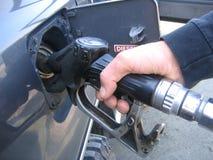 Füllender Diesel Lizenzfreie Stockfotografie