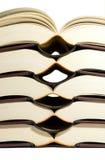 Fünf Bücher Stockbild
