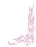 Fünf Blumen und Blätter. Lizenzfreie Stockfotografie