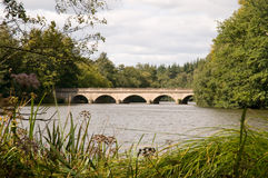 Fünf Bogen-Brücke am Virginia-Wasser Lizenzfreie Stockbilder