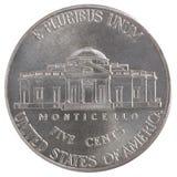 Fünf-Cent-Münze Freiheit Lizenzfreie Stockbilder