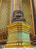 Fünf Dhyani Buddhas Stockfotos