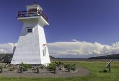 Fünf Insel-Leuchtturm Stockbild