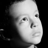Fünf Jahre alte Kind Lizenzfreie Stockfotos
