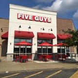 Fünf Kerl-Restaurant Lizenzfreie Stockfotografie