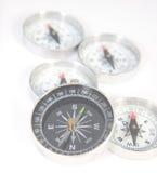 Fünf Kompassse Lizenzfreies Stockbild