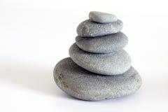 Fünf Steine Stockbild