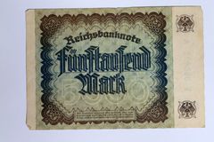 fünf tausend Kennzeichen Lizenzfreies Stockbild