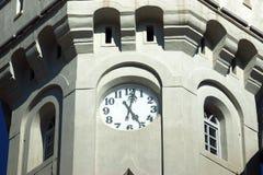 Fünf Uhr Stockbild