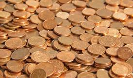 Fünf, 10 und fünfzig Eurobanknoten Lizenzfreie Stockbilder