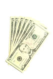 Fünfdollarschein Stockbild