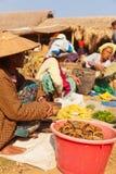 Fünftägiger Markt, Inle See Stockfotos