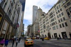 Fünfte Allee, Manhattan, New York City Stockbild