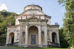 Fünfte Kapelle bei Sacro Monte di Varese Italien Stockfoto
