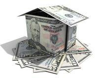 Fünfzig-Dollar-Haus Stockfoto