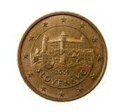 Fünfzig Eurocents Stockfoto