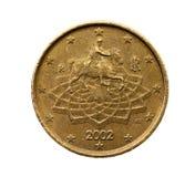 Fünfzig Eurocents Lizenzfreies Stockfoto