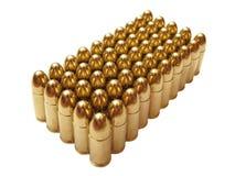 Fünfzig Kugeln Lizenzfreies Stockbild