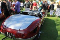 fünfziger Jahre Ferrari Innen- und hintere Ansicht Lizenzfreie Stockfotos