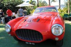 fünfziger Jahre Ferrari 250 Millimeter-Frontansicht Lizenzfreies Stockbild