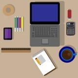Für Büro Geschäft Lizenzfreies Stockbild