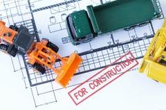 Für Bauabschnitt-Zeichnung Lizenzfreie Stockfotografie