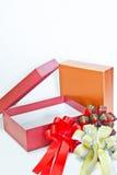 Für das Geschenk Ihrer Lieblingsfeiern Stockfotografie